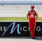during qualifying for the NASCAR Sprint Cup Series FireKeepers Casino 400 at Michigan International Speedway on June 10, 2016 in Brooklyn, Michigan.
