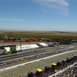 during the NASCAR Sprint Cup Series Toyota/Save Mart 350 at Sonoma Raceway on June 26, 2016 in Sonoma, California.