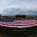 during the NASCAR Sprint Cup Series Coke Zero 400 Powered By Coca-Cola at Daytona International Speedway on July 2, 2016 in Daytona Beach, Florida.
