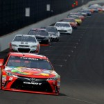 Kyle Busch led a race high 149 laps Sunday. (Getty Images)