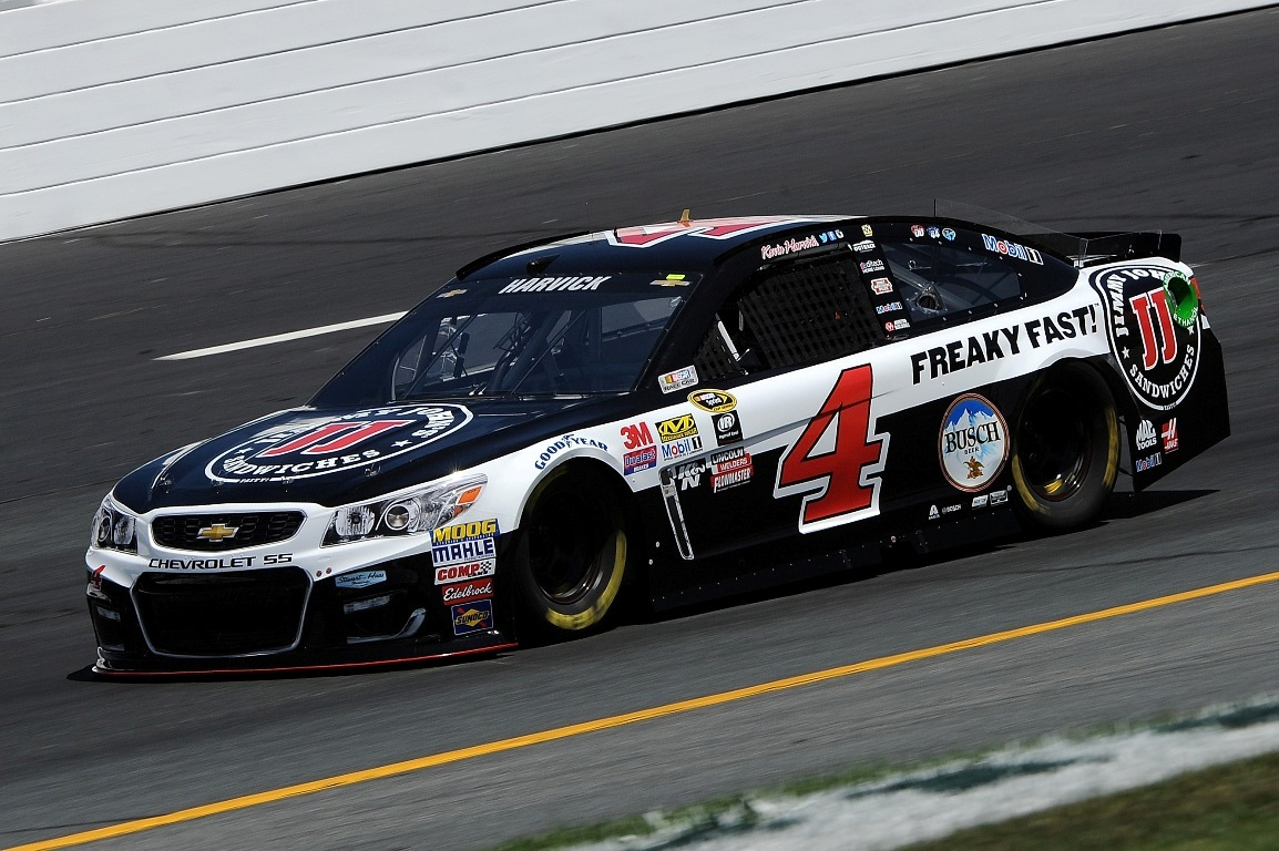 Kevin Harvick finished 4th Sunday. (Getty Images)