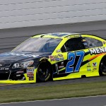 Paul Menard practices at Pocono Raceway Friday, July 29, 2016 (Getty Images)
