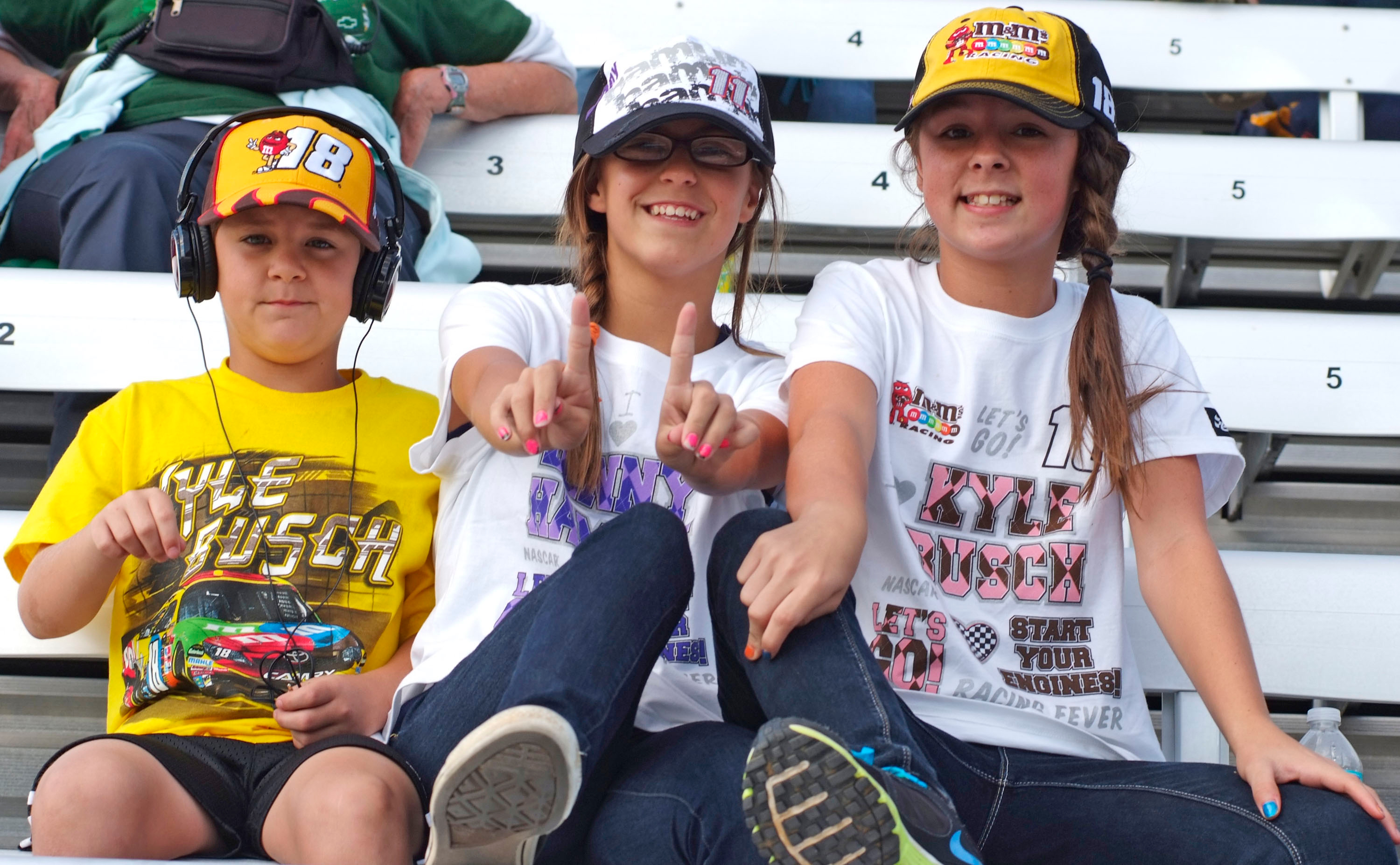 Many NASCAR tracks already have free admission for kids. (Photo: Dover International Speedway)