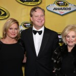 Betty Jane France was the  mother of Lesa and Brian France.  (Getty Images)