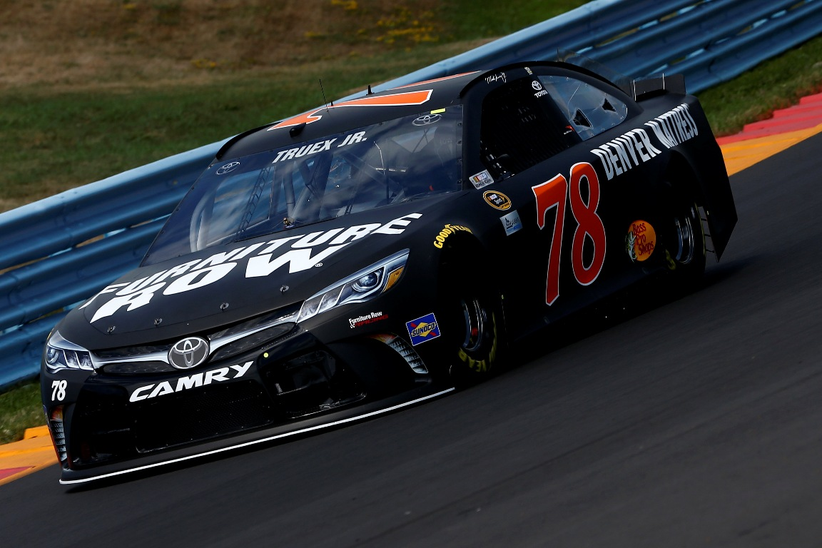 Martin Truex Jr. qualified 13th Saturday. (Getty Images)