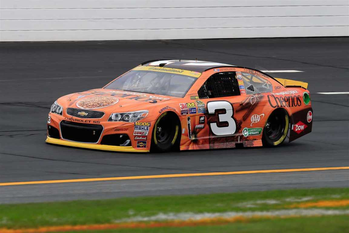 Austin Dillon practices Friday at New Hampshire. (Getty Images)