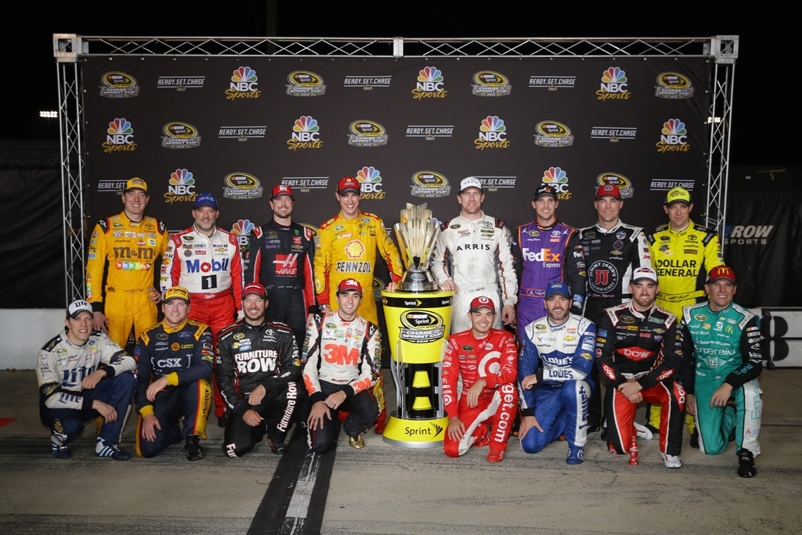 The 2016 Chase field (Getty Images)
