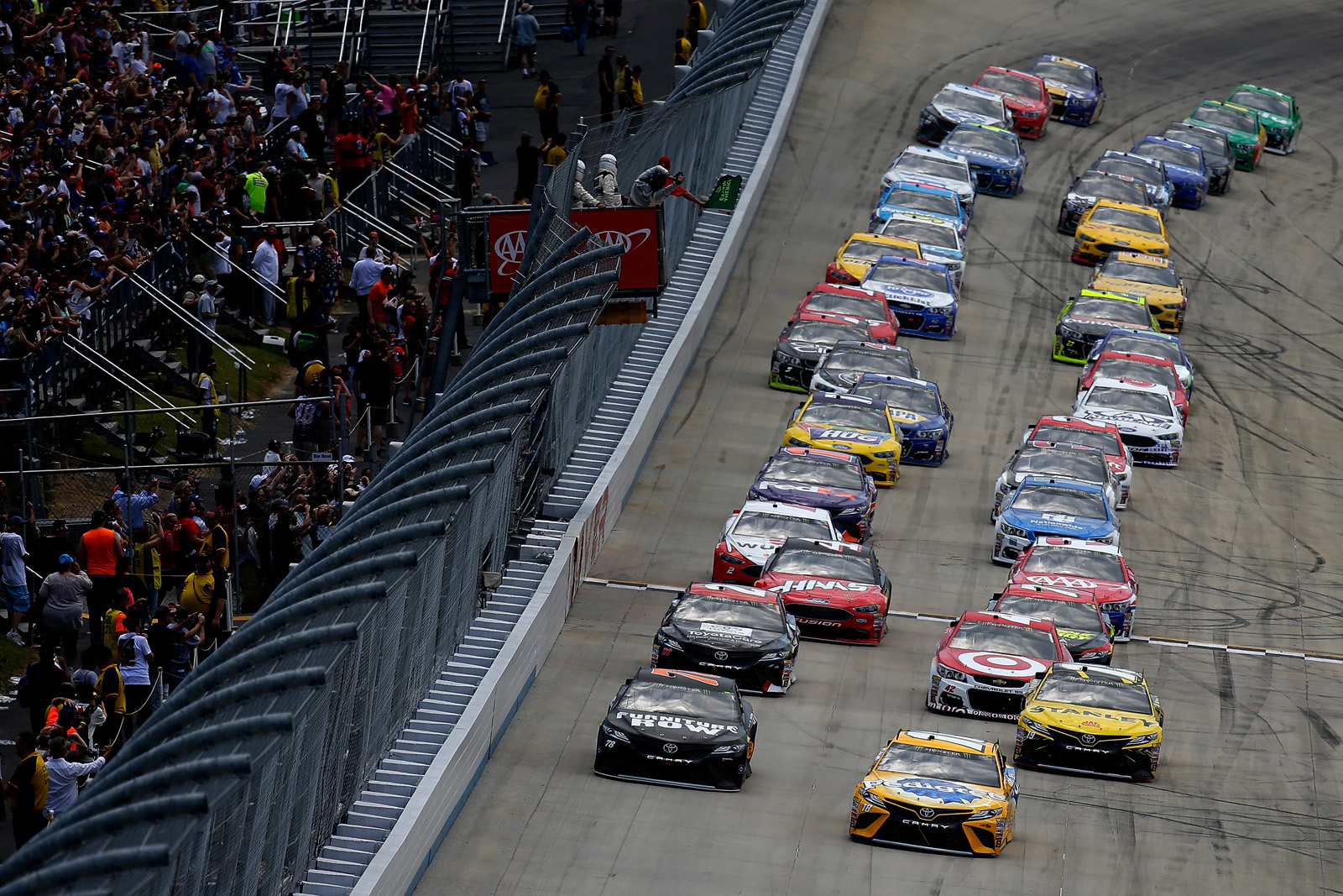 The Nascar Aaa 400 At Dover International Speedway As It