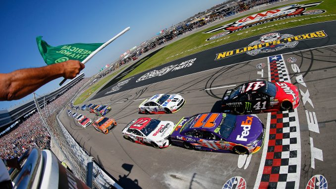 The nascar aaa texas 500 at texas motor speedway as it for Starting lineup texas motor speedway