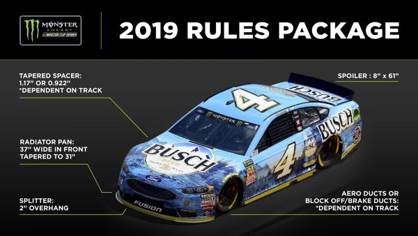 NASCAR unveils 2019 Monster Energy Cup competition package ...