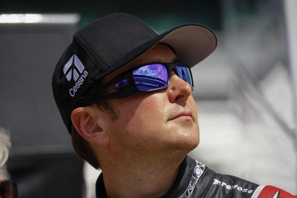 INDIANAPOLIS, IN -  Kurt Busch driver of the #26 Honda is seen during practice for the Indy 500 at the Indianapolis Motor Speedway on May 11, 2014 in Indianapolis, Indiana. (Photo by Michael Hickey/Getty Images)