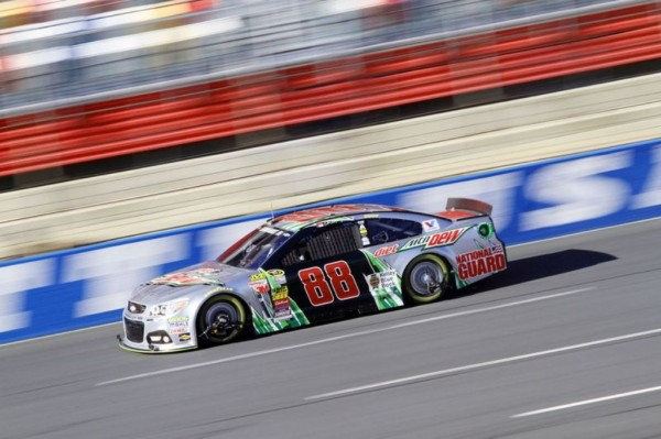 Dale Earnhardt Jr. was one of four drivers testing at Charlotte this week. (Photo: Charlotte Motor Speedway)
