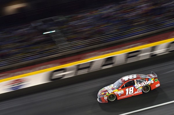 Kyle Busch finished 11th Sunday at Charlotte.