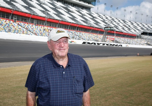 In his retirement years, Marvin Panch was a fixture at Daytona International Speedway. (DIS)