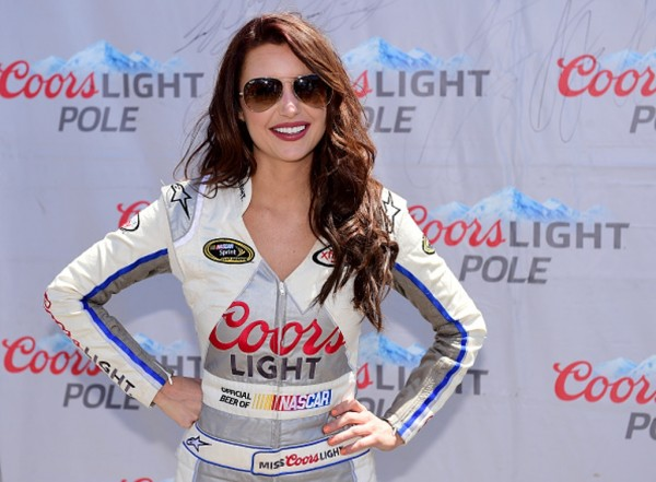 Amanda Mertz took over as Miss Coors Light early in 2015.