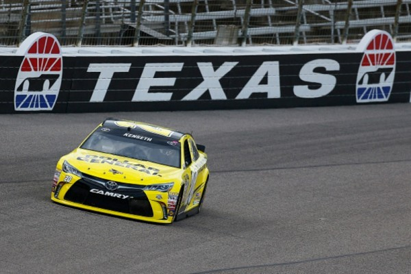 Matt Kenseth on track during practice for the NASCAR Sprint Cup Series Duck Commander 500 at Texas Motor Speedway on April 7, 2016 in Fort Worth, Texas.