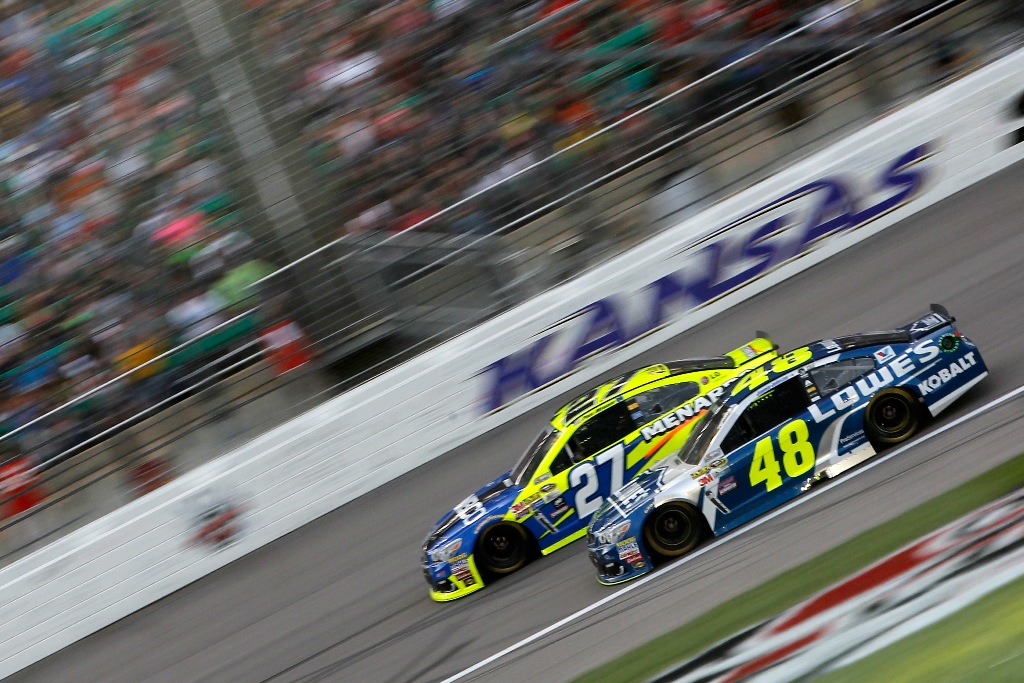 NASCAR heads back to Kansas this week. (Getty Images)