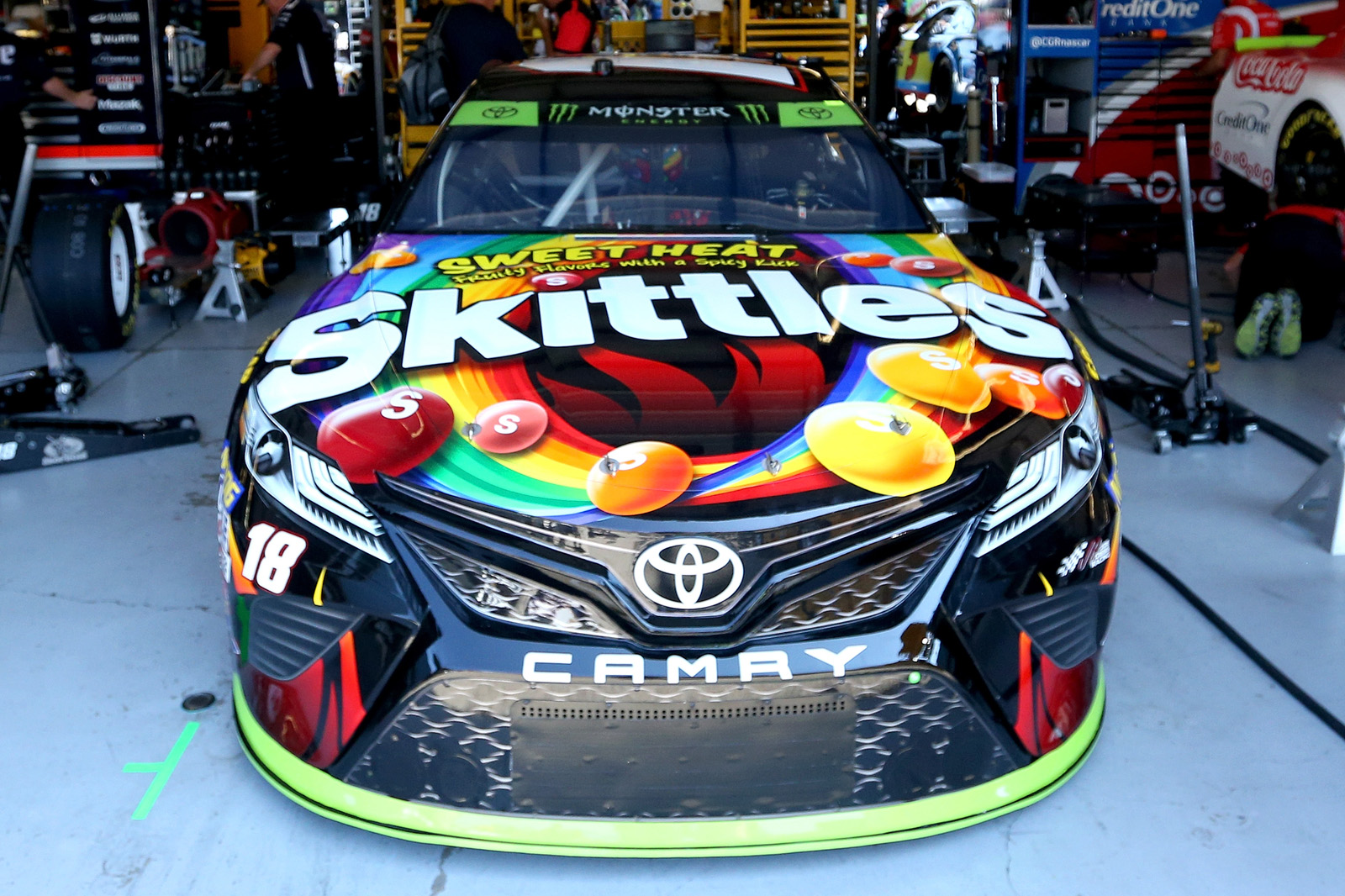 Monster Energy NASCAR Cup Series Tales of the Turtles 400 – Practice