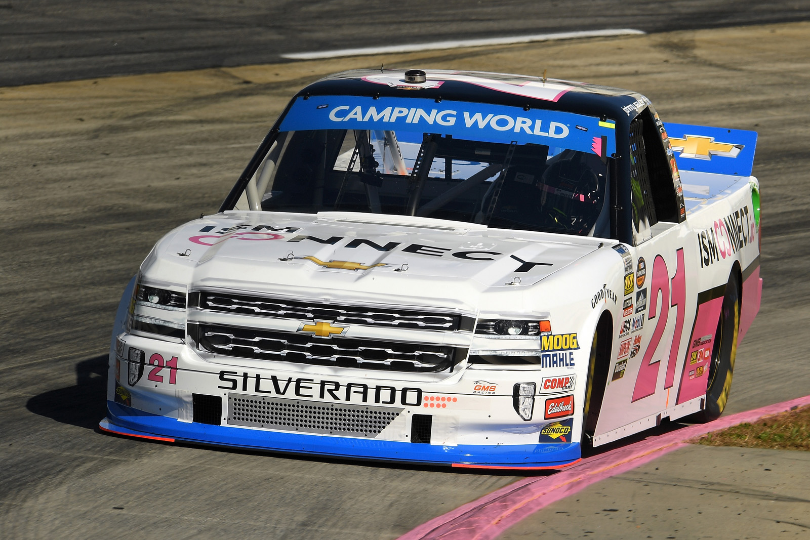 NASCAR Camping World Truck Series Texas Roadhouse 200 Presented by Alpha Energy Solutions – Practice
