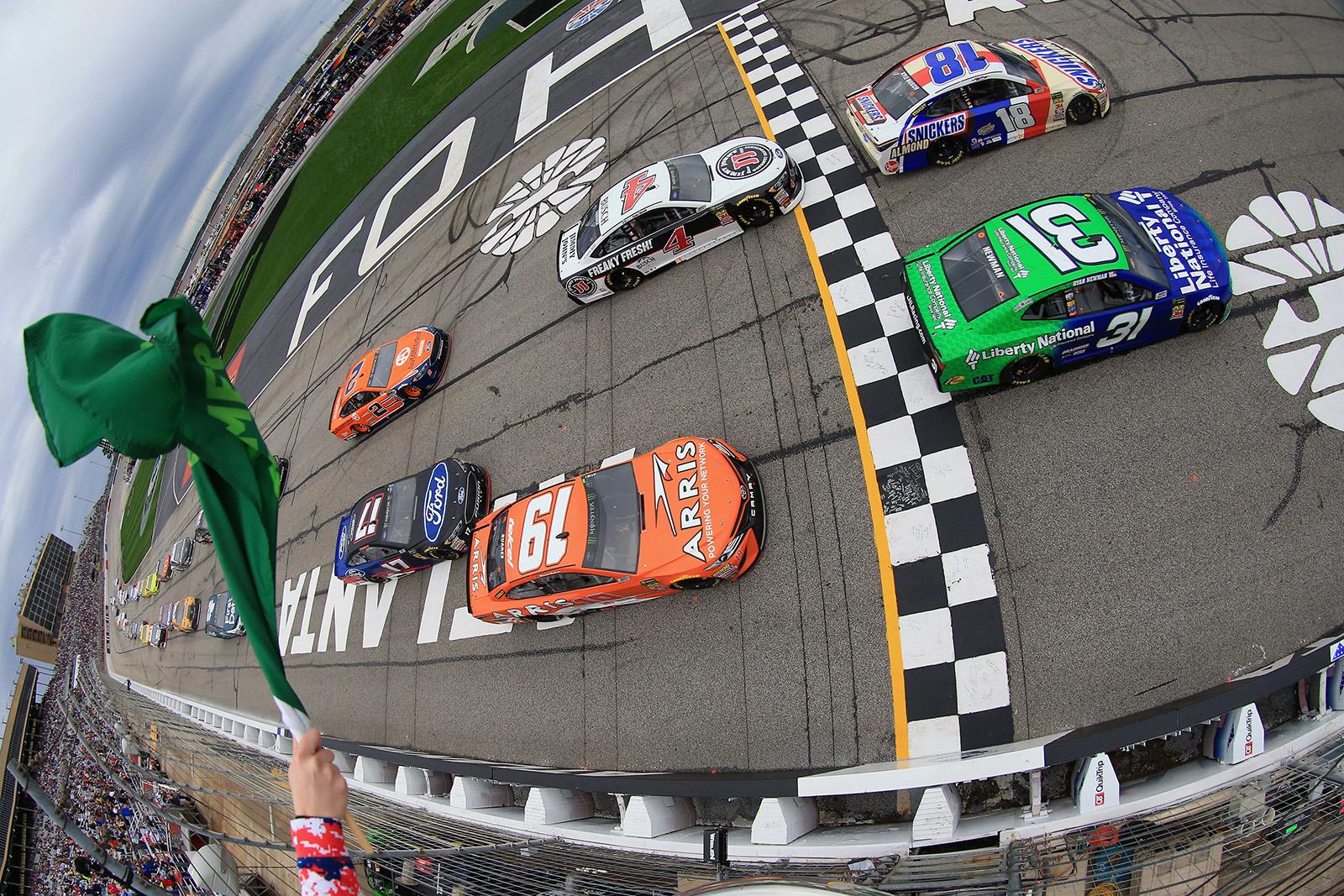 Monster Energy NASCAR Cup Series Folds of Honor QuikTrip 500