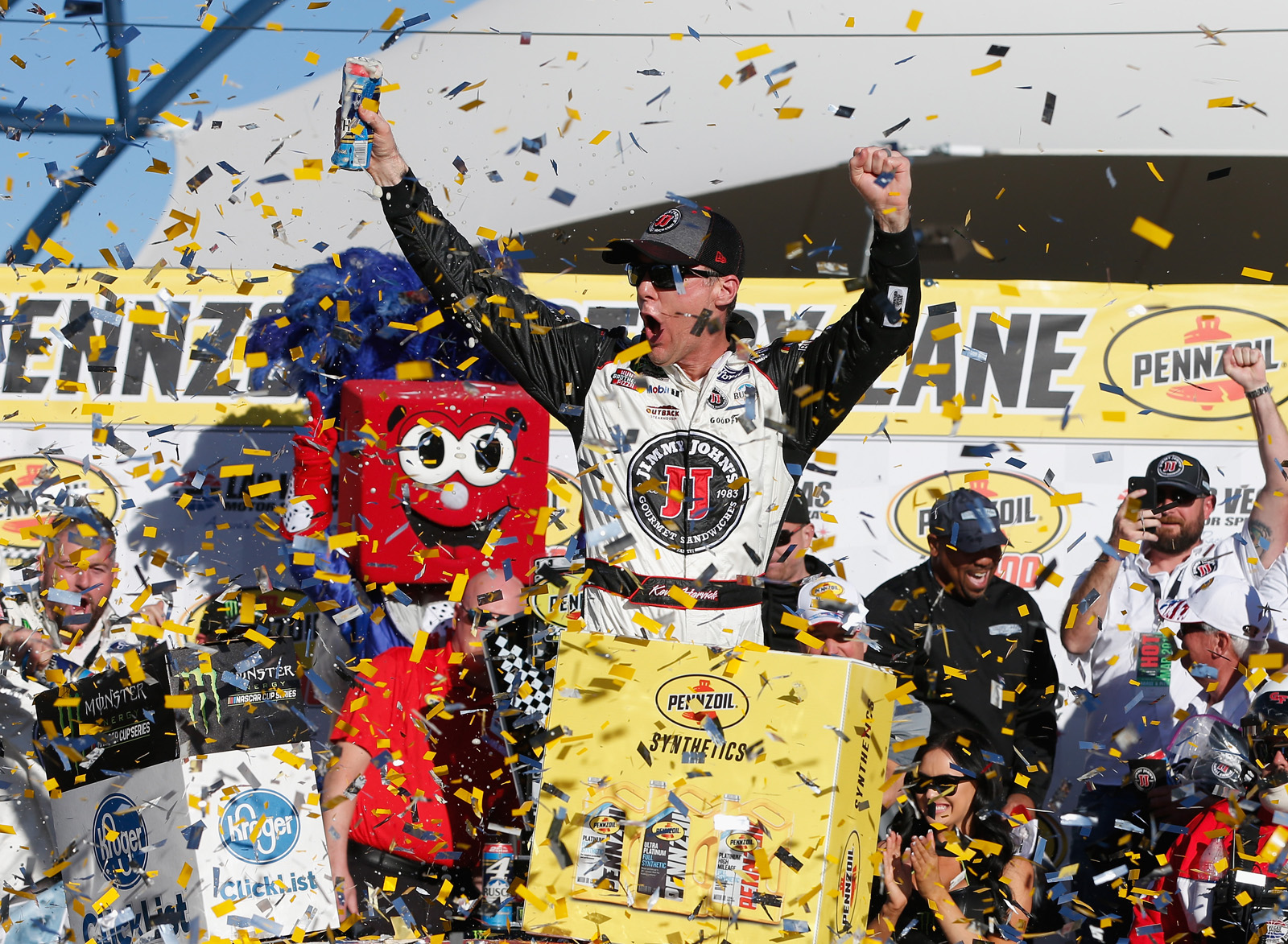 Monster Energy NASCAR Cup Series Pennzoil 400 presented by Jiffy Lube