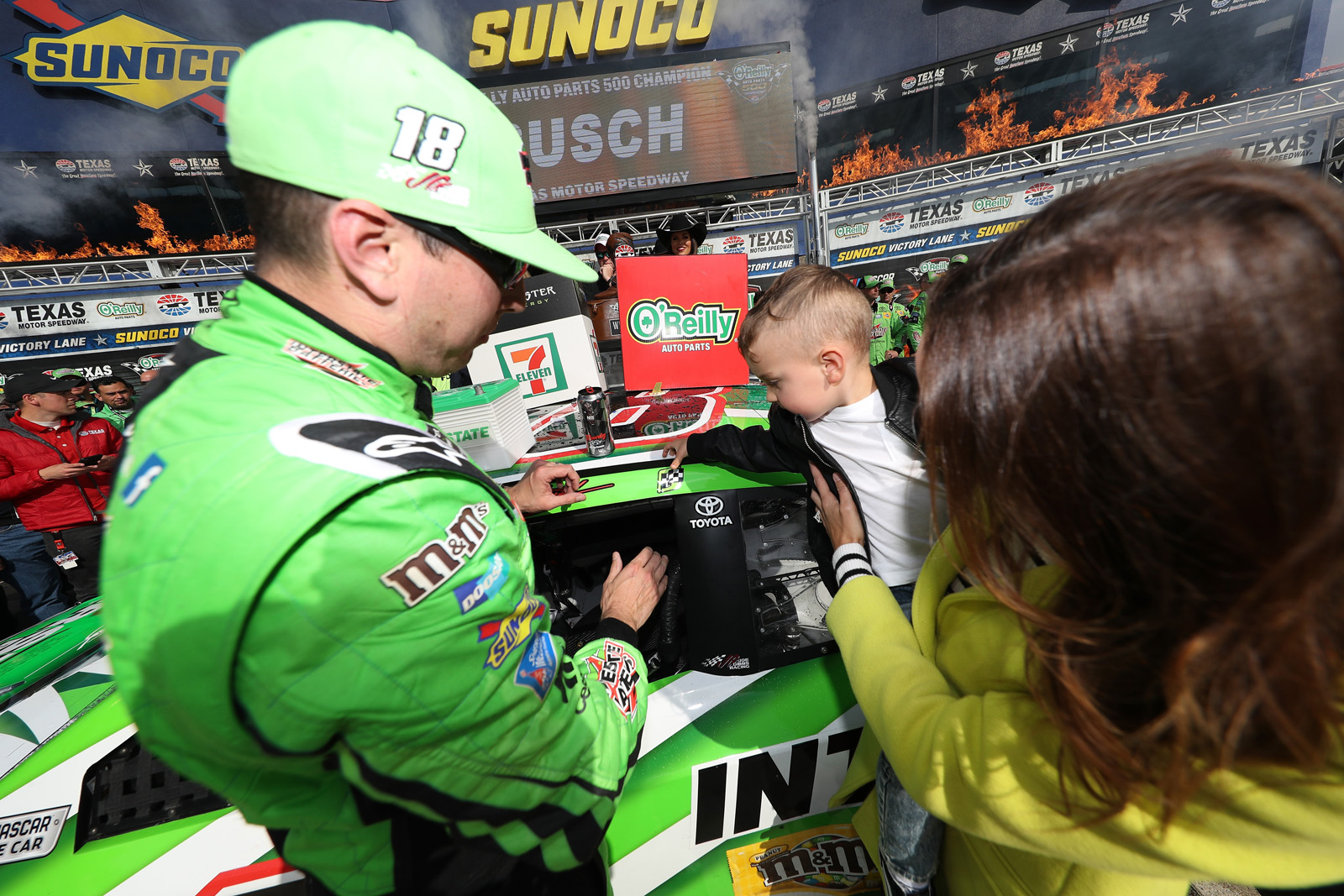 Monster Energy NASCAR Cup Series O'Reilly Auto Parts 500