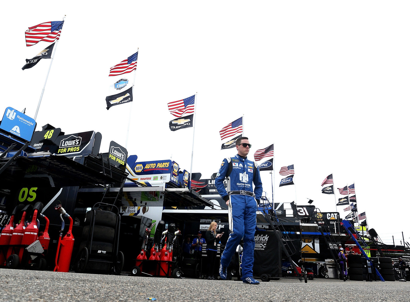 Monster Energy NASCAR Cup Series AAA 400 – Practice