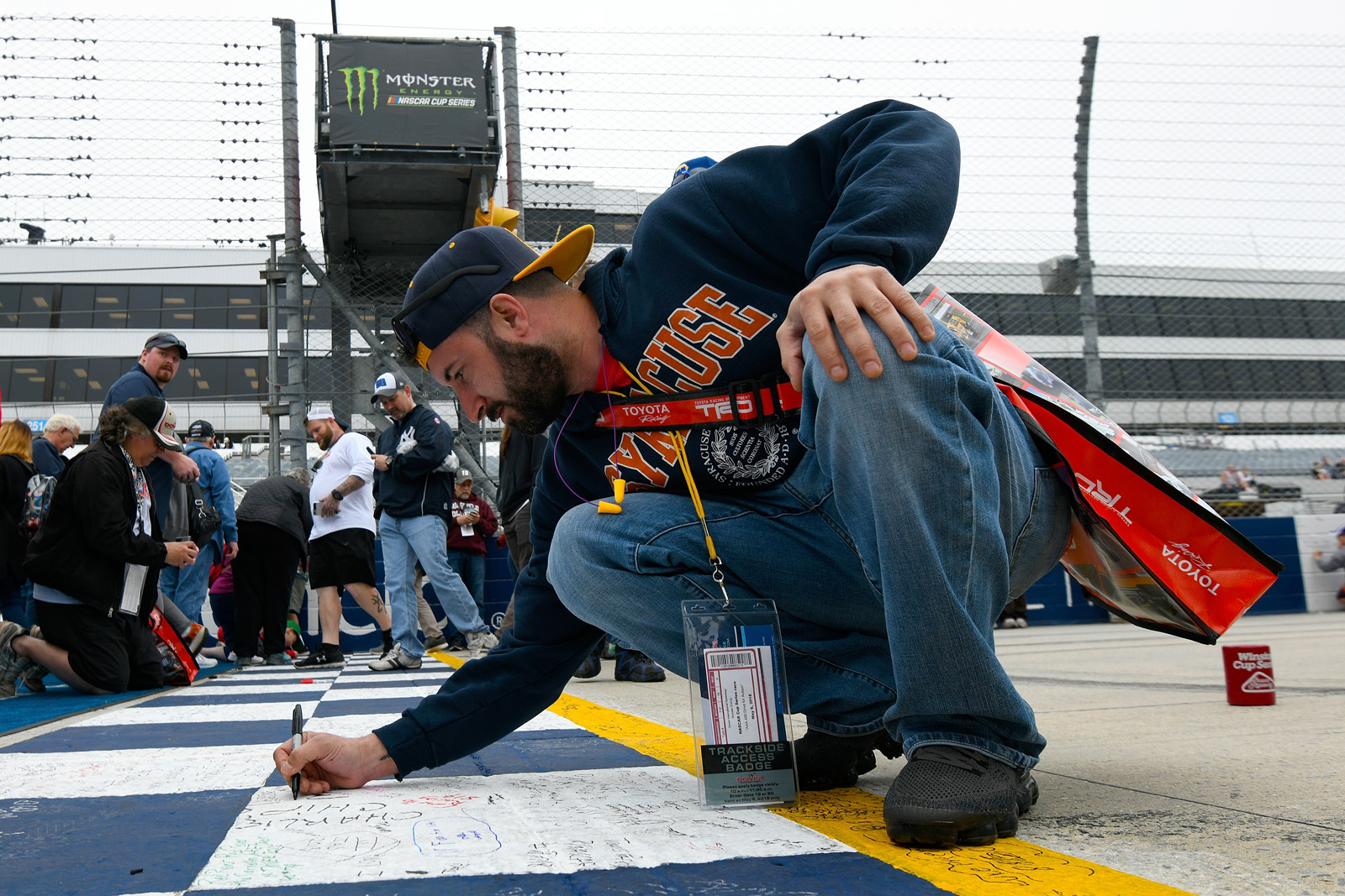 Monster Energy NASCAR Cup Series AAA 400 Drive for Autism