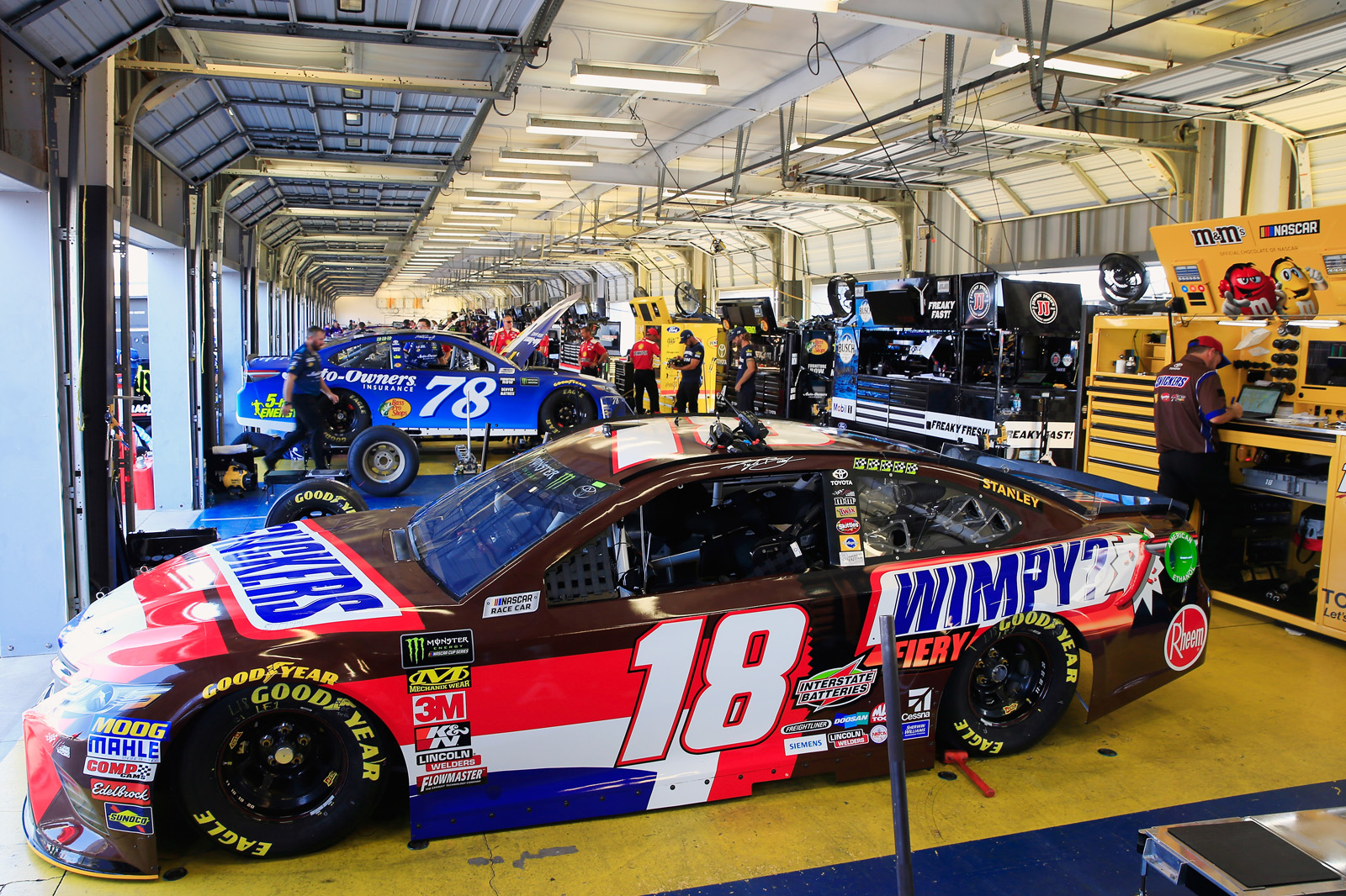Monster Energy NASCAR Cup Series Quaker State 400 presented by Walmart – Practice