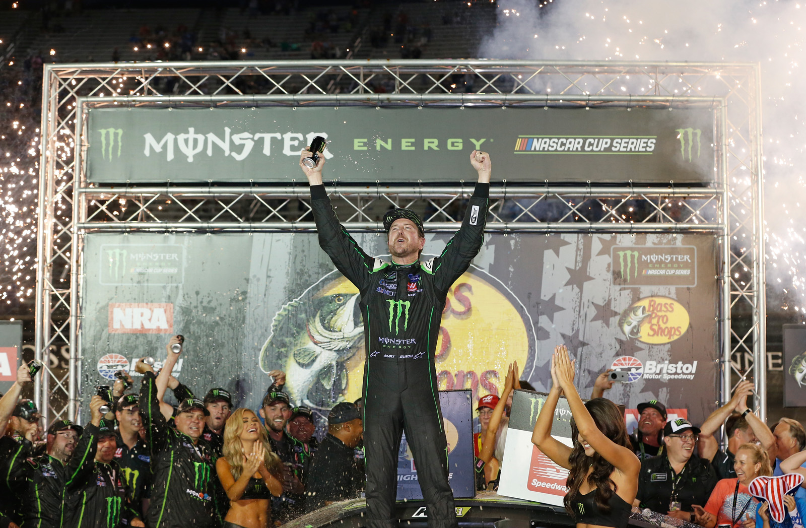 Monster Energy NASCAR Cup Series Bass Pro Shops NRA Night Race