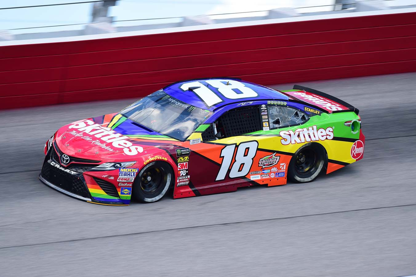 Monster Energy NASCAR Cup Series Bojangles' Southern 500 Practice