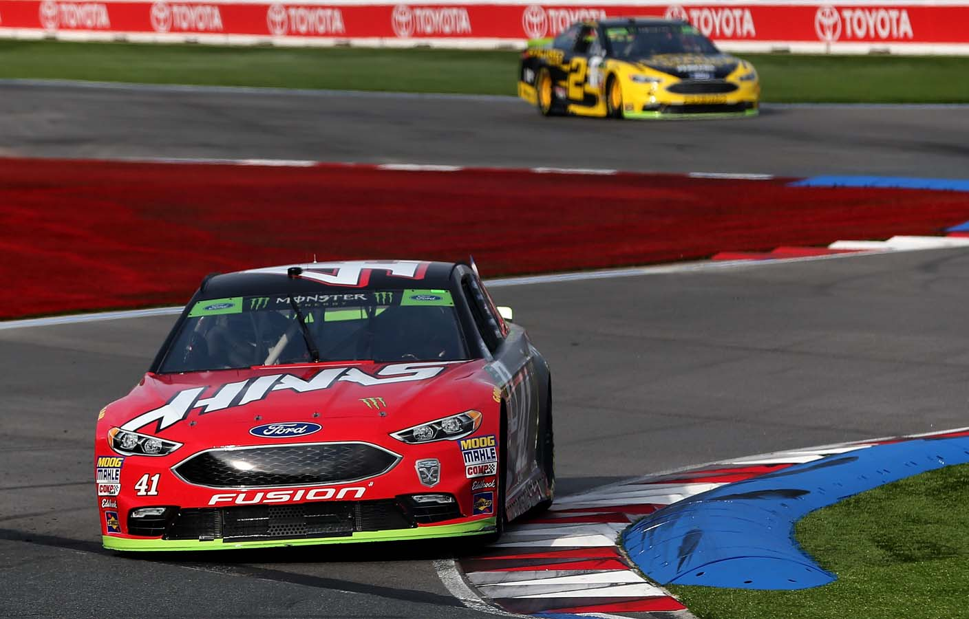 Bank of America Roval 400 – Qualifying