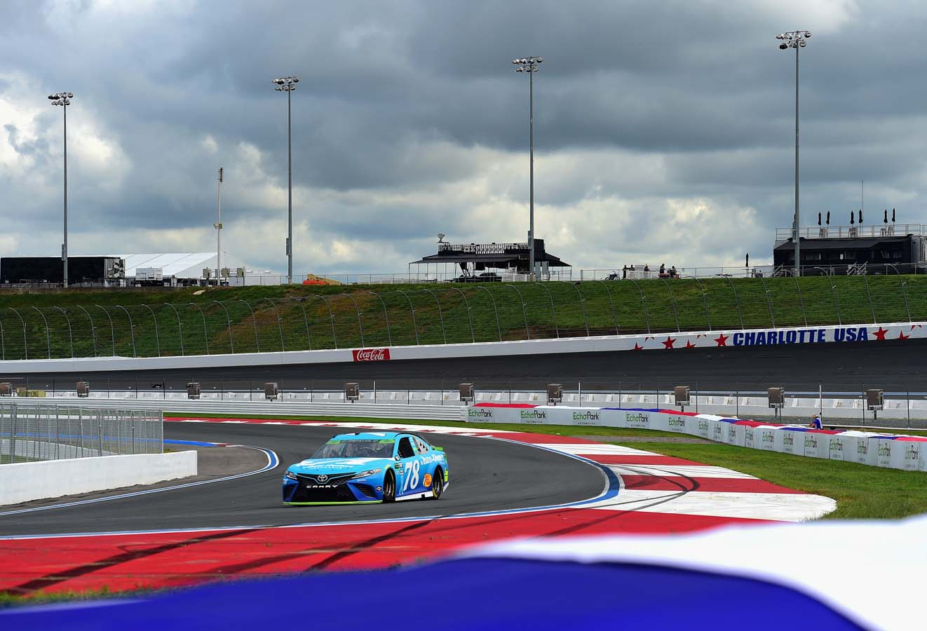 Bank of America Roval 400 – Practice