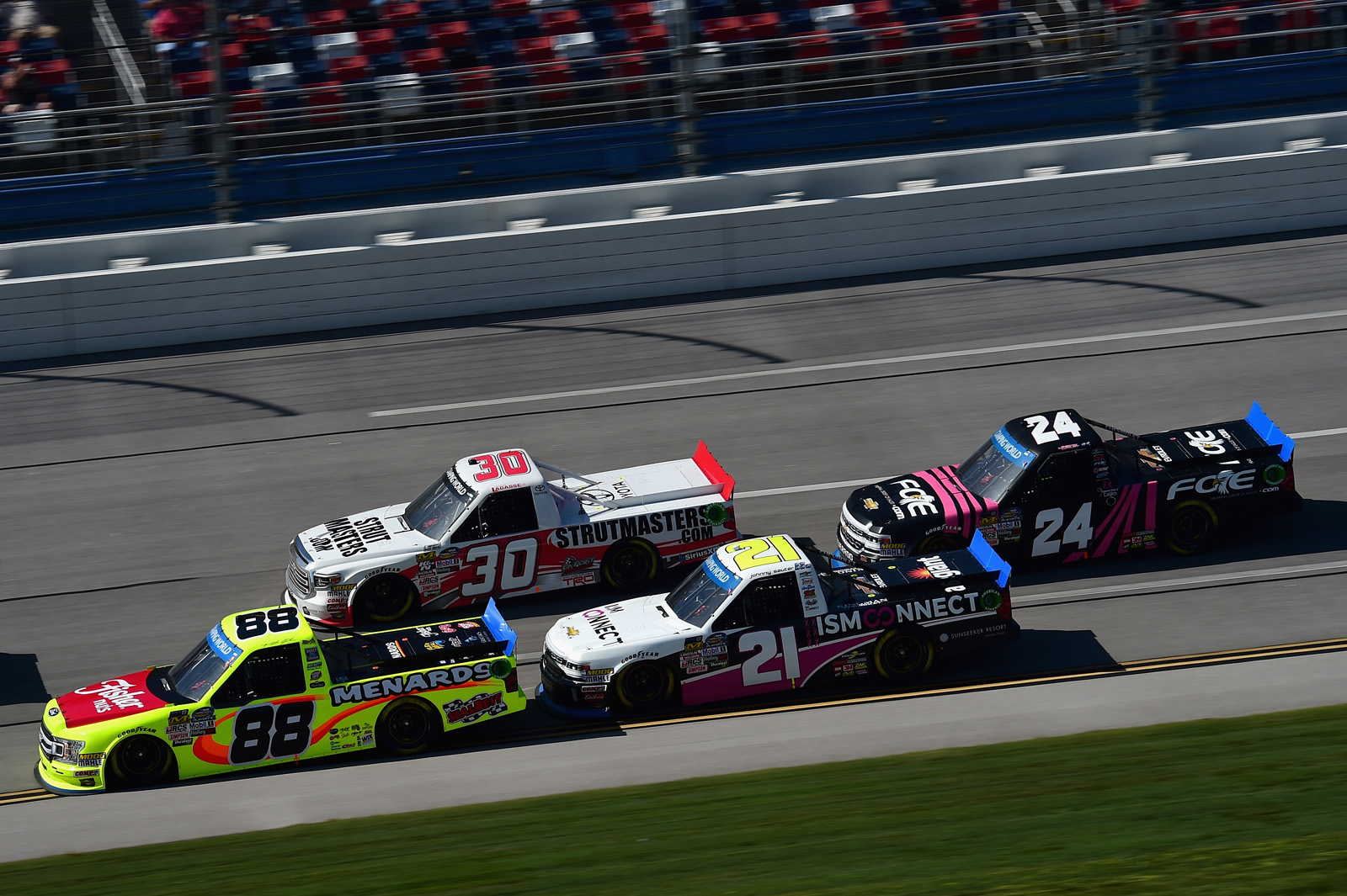 NASCAR Camping World Truck Series Fr8Auctions 250