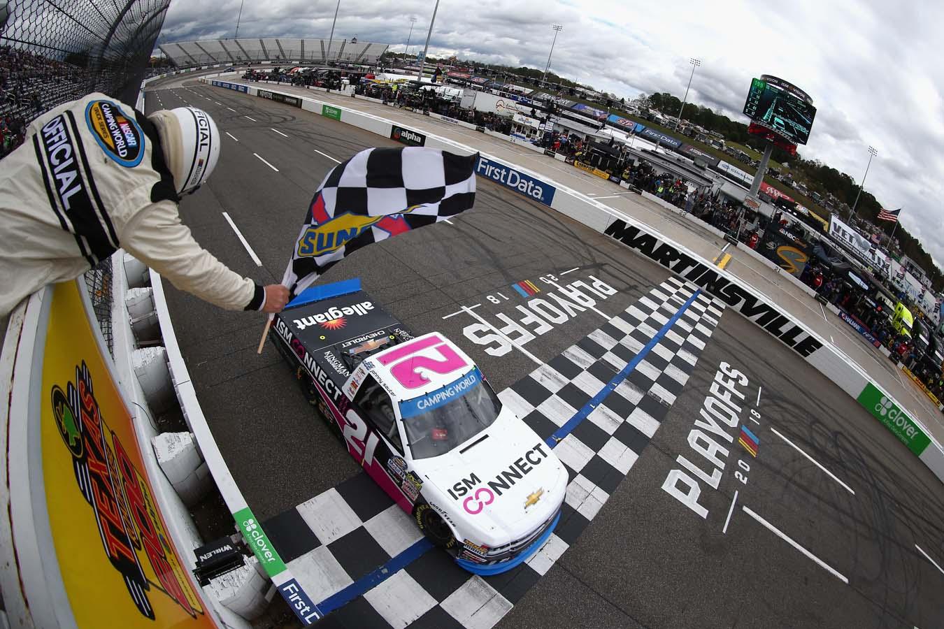 NASCAR Camping World Truck Series Texas Roadhouse 200