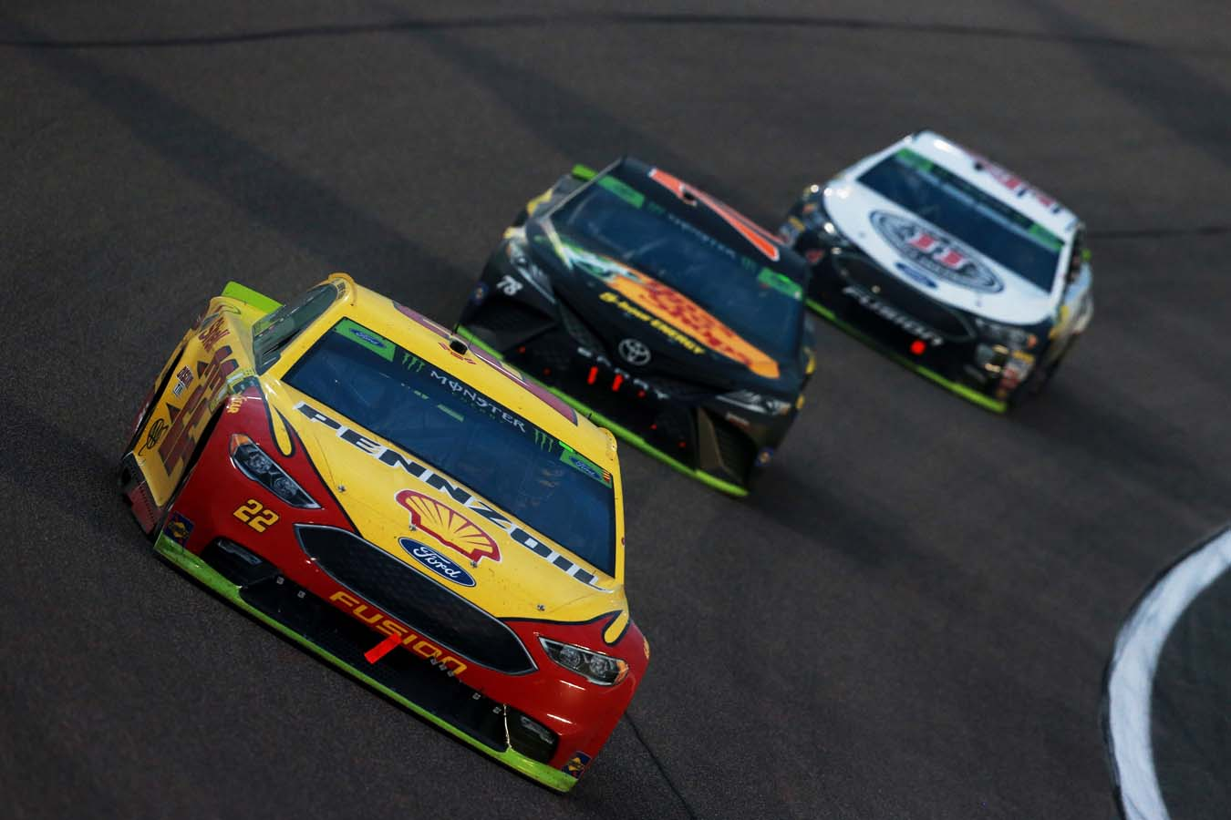 Monster Energy NASCAR Cup Series Ford EcoBoost 400