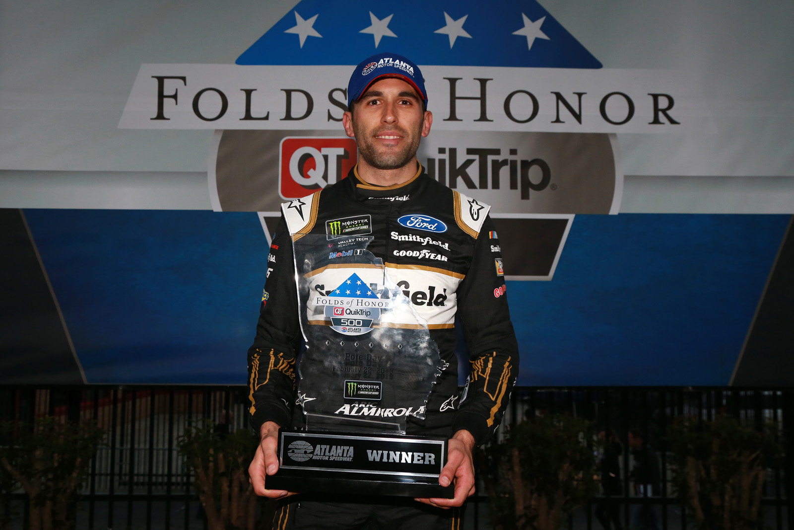 Monster Energy NASCAR Cup Series Folds of Honor Quiktrip 500 – Qualifying