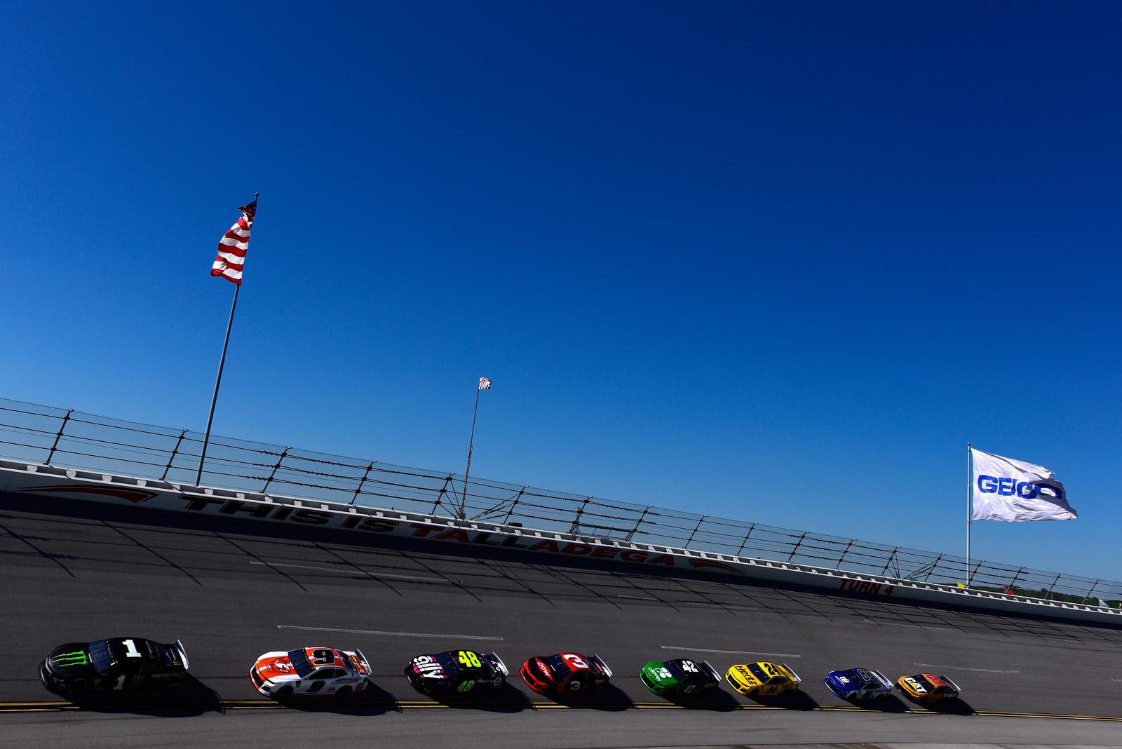 Monster Energy NASCAR Cup Series GEICO 500 – Practice