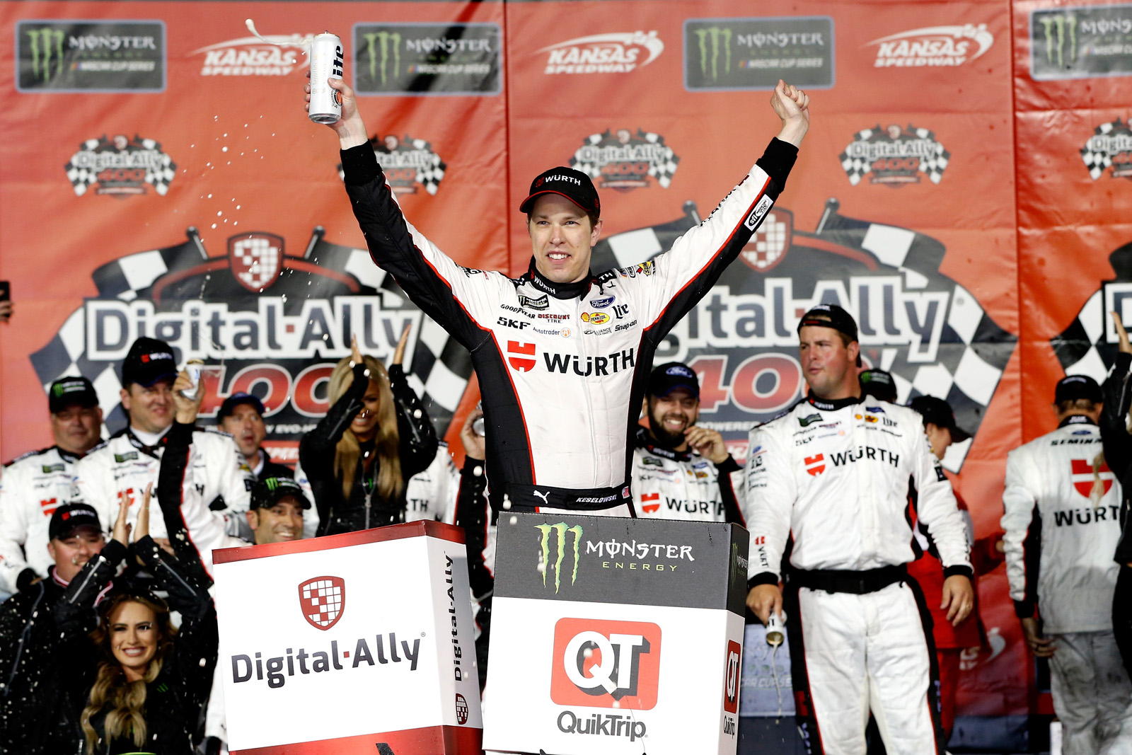 Monster Energy NASCAR Cup Series Race – Digital Ally 400