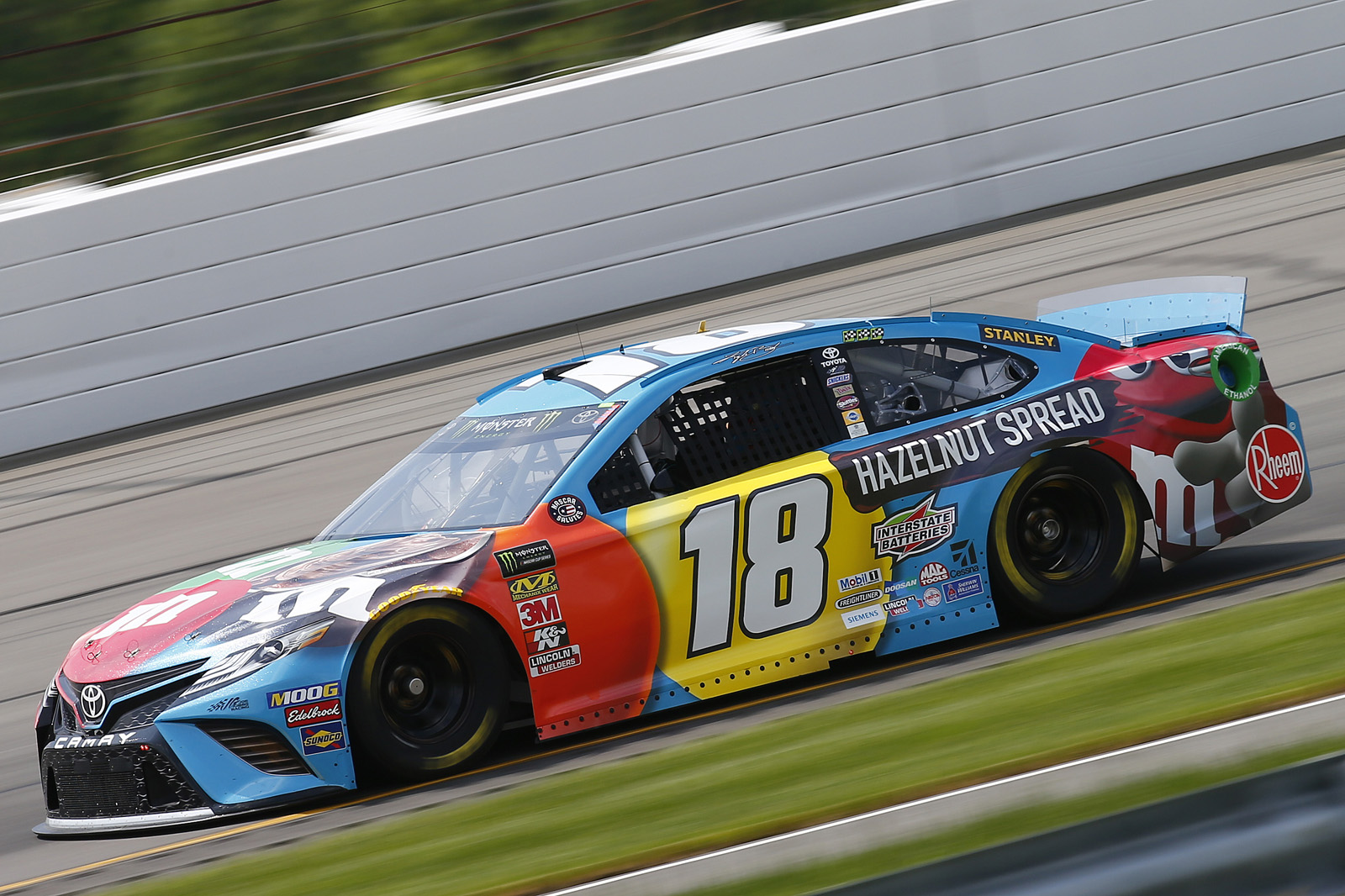 Monster Energy NASCAR Cup Series Race Pocono 400 – Day 1 Practice