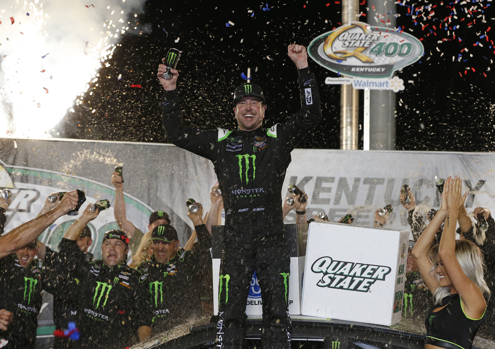 Monster Energy NASCAR Cup Series Quaker State 400 Presented by Walmart