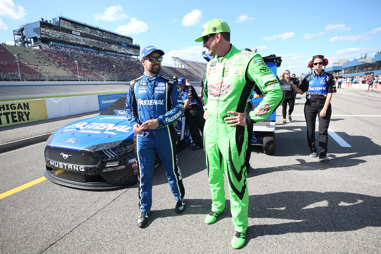 Monster Energy NASCAR Cup Series Consumers Energy 400 – Qualifying