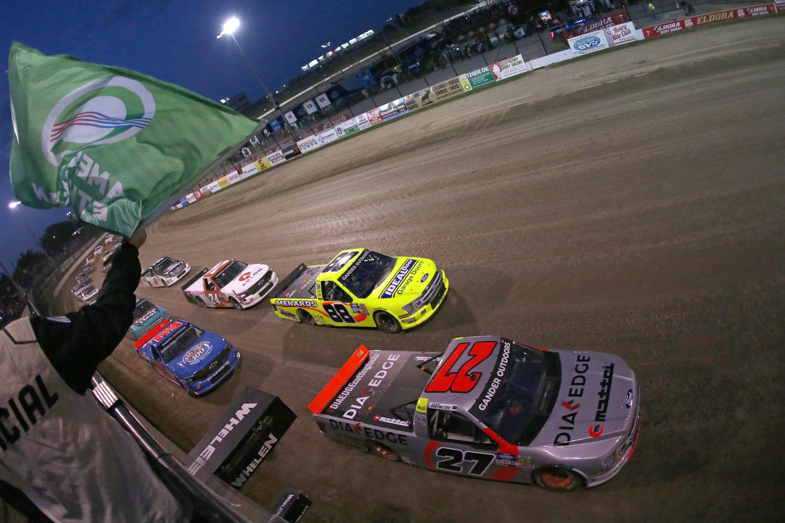 NASCAR Gander Outdoor Truck Series Eldora Dirt Derby