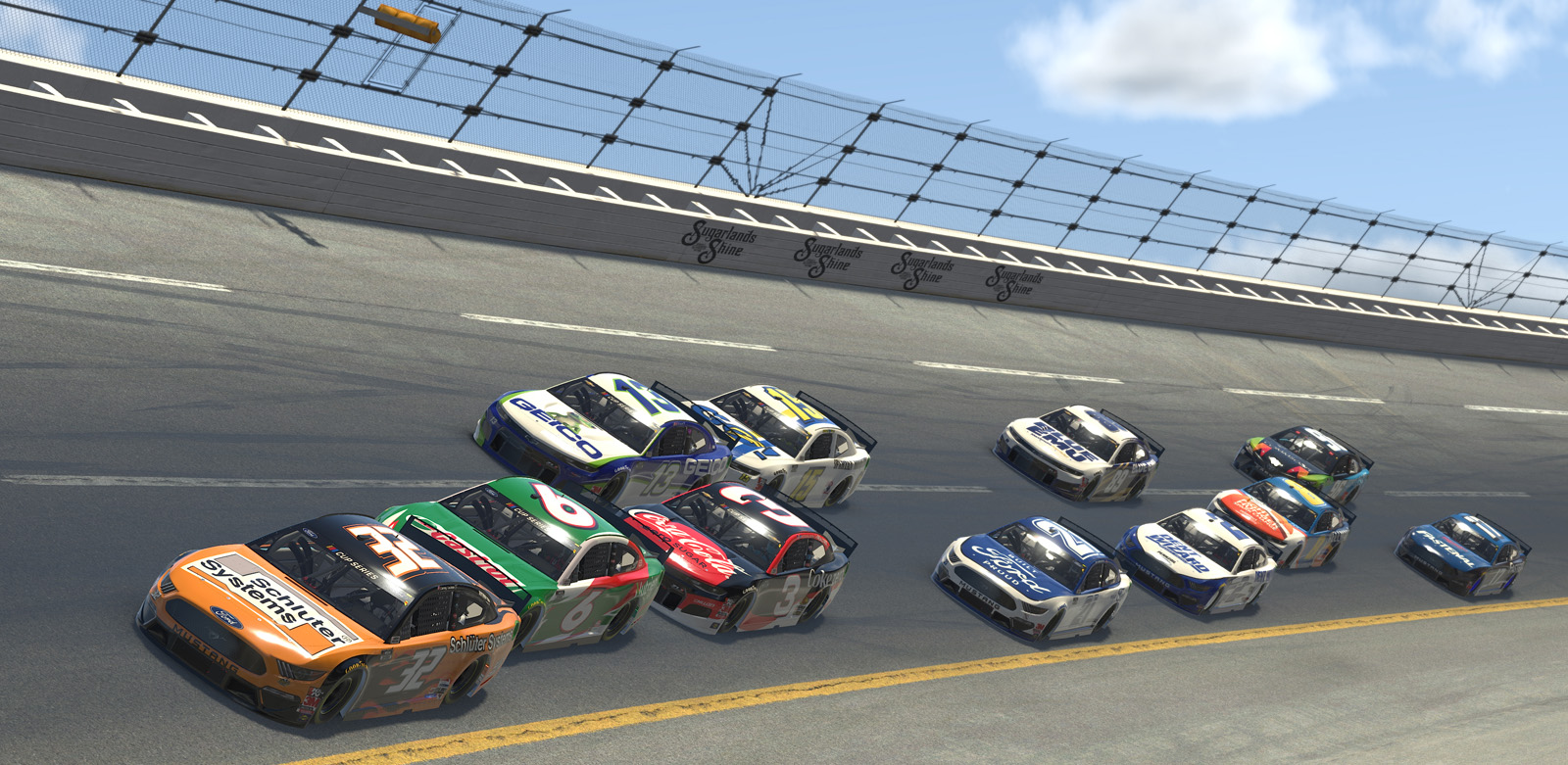 eNASCAR iRacing Pro Invitational Series – Geico 70