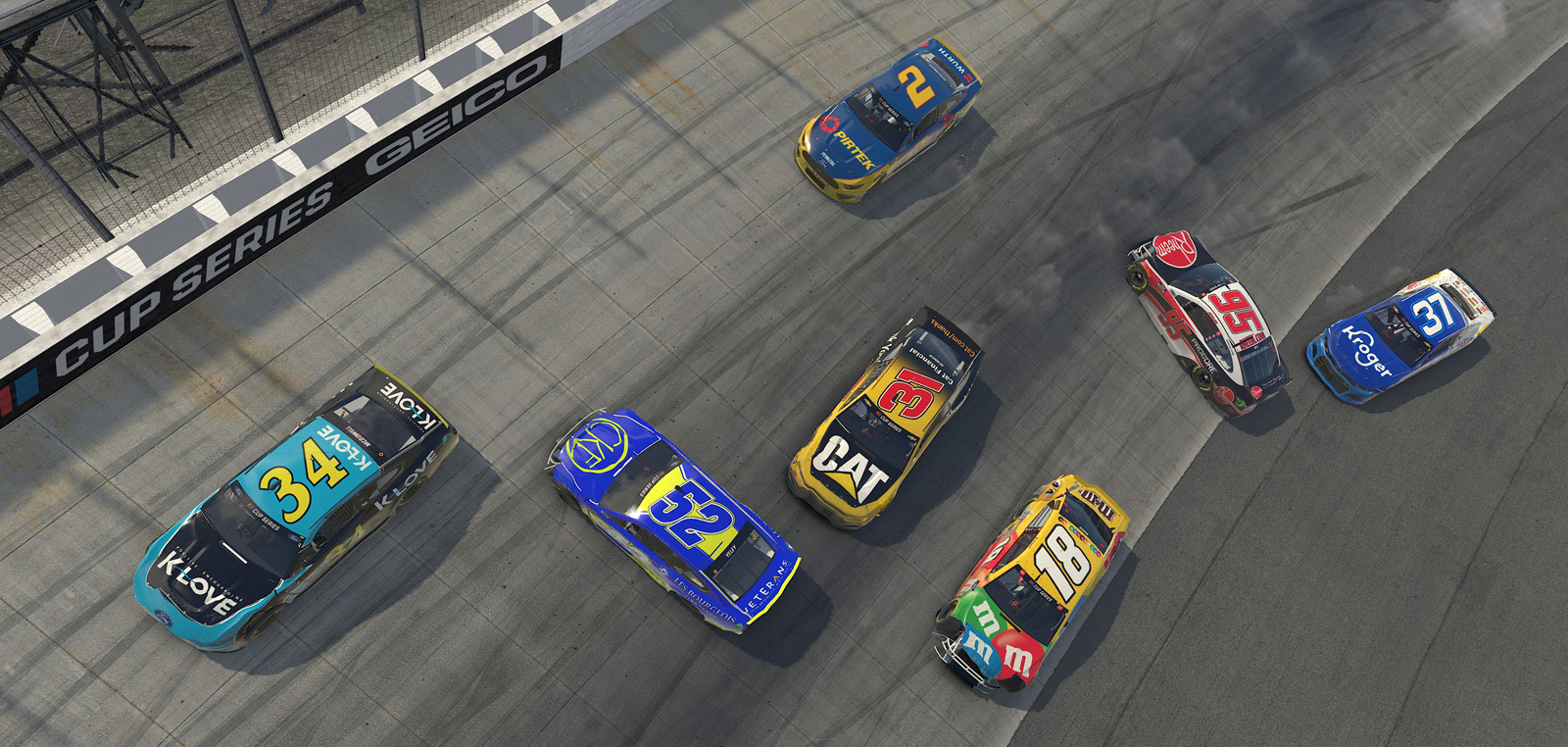 eNASCAR iRacing Pro Invitational Series – Finish Line 150