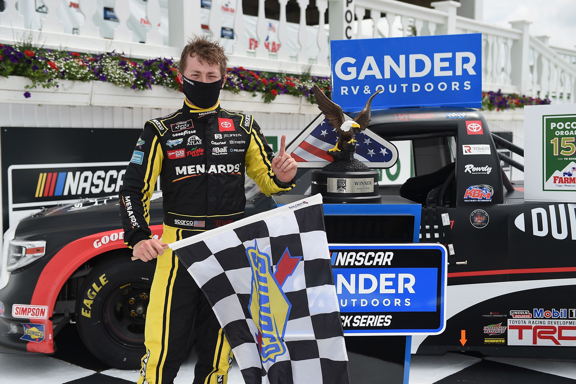 NASCAR Gander RV & Outdoors Truck Series Pocono Organics 150 to benefit Farm Aid