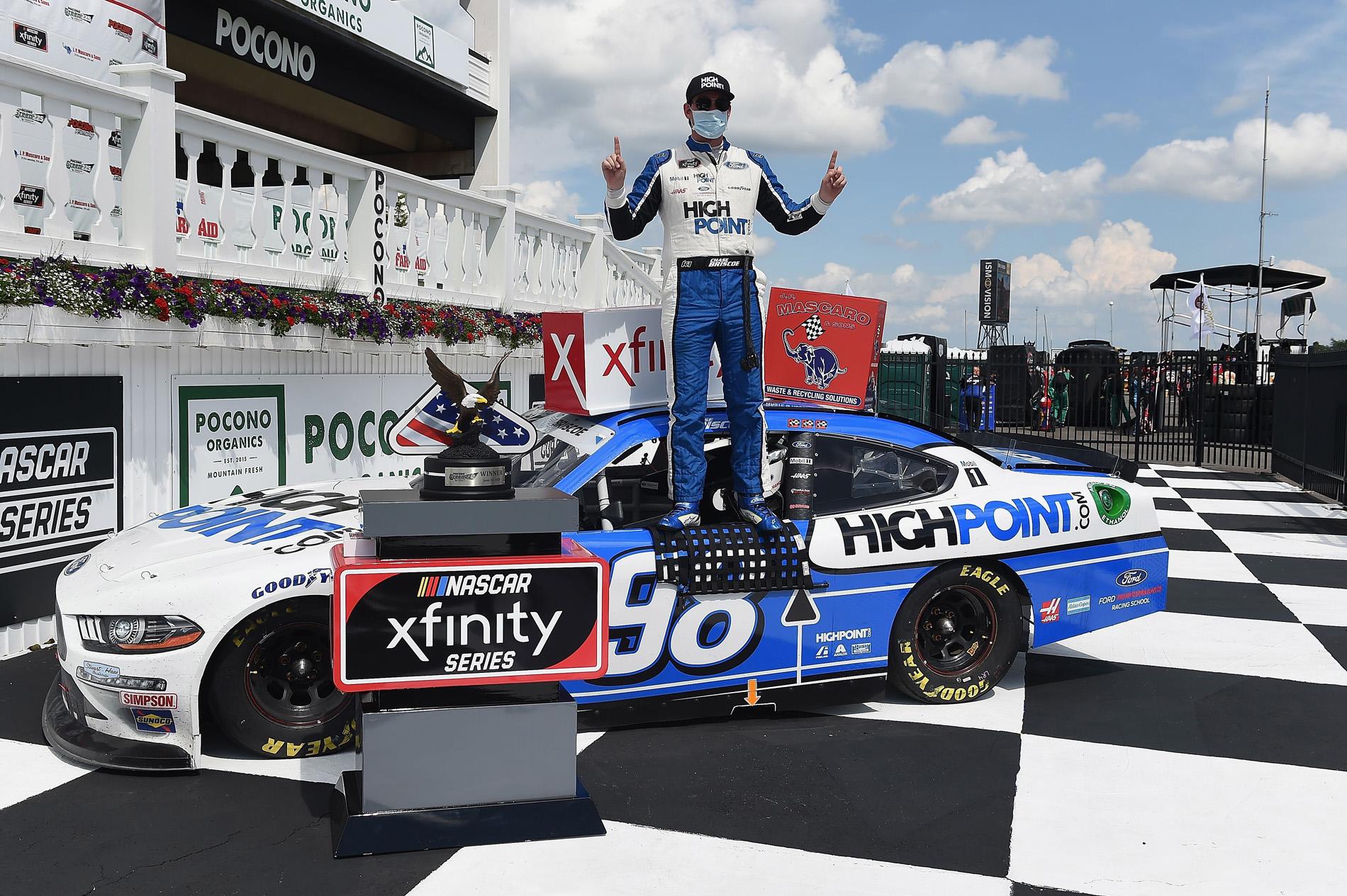 NASCAR Xfinity Series Pocono Green 225 Recycled by J.P. Mascaro & Sons