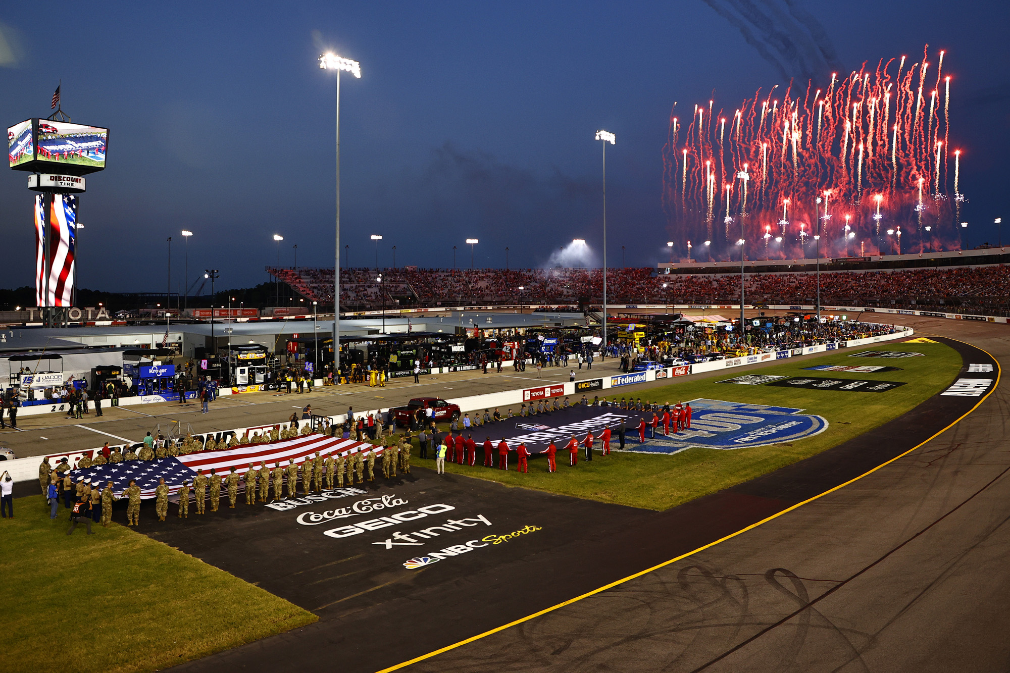 NASCAR Cup Series Federated Auto Parts 400 Salute to First Responders